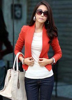 Cheap Autumn Winter Light Tan Double Breasted Short Coat in women