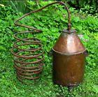 OLD COPPER STILL - antique Whiskey brewing moonshine Alcohol boiler - http://satehut.com/old-copper-still-antique-whiskey-brewing-moonshine-alcohol-boiler/