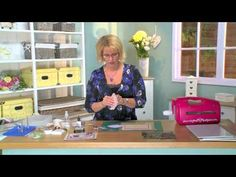 Craft Dies by Sue Wilson -- Tutorial Video - Misted Flowers for Creative Expressions - YouTube