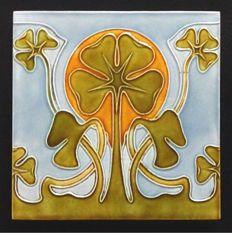 Morialmé - Art Nouveau Tile