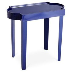 Check out this item at One Kings Lane! OKL Exclusive Callahan Drink Table, Navy
