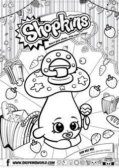 Shopkins Coloring Pages Season 2