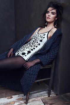 Lolita Bodysuit/ Sonya Cardigan