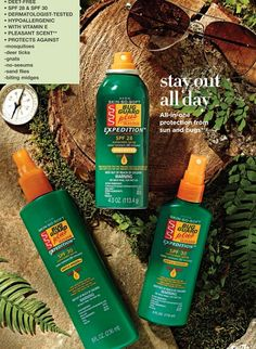 Enjoy outdoors. SKIN-SO-SOFT BUG GUARD PLUS IR3535® EXPEDITION™ All-in-one protection from sun and bugs