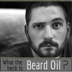 "What the heck is beard oil? Like the name suggests – an oil for your beard. Beard oils are usually made from 2 different kinds of oil, the carrier and the essential oils. The carrier oils are the base oil and it's usually more than 80% of the mix in a beard oil. Carrier oils are the ones that ""carry"" the essential oils. The essential oils are the ones that give most of the scent of the beard oil as well as additional vitamins and minerals. #beards #beardedmen #beardoil #beardgrooming #beardcare"