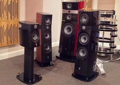 Focal Sopra family side by side with Stella Utopia.