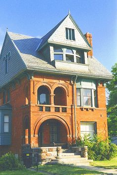 Charles W. Warren House (Later Dunbar Hospital), 580 Frederick--Detroit MI | Flickr - Photo Sharing!