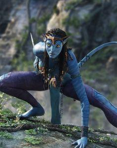 Zoe Saldana revela la primer imagen de 'Avatar 2'