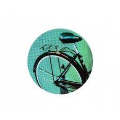 Painel Decorativo Bicicleta Ø 40 Azul