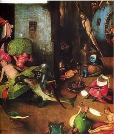 Hieronymus Bosch The Last Judgement Detail 1