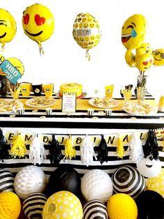 Emoji Birthday Party Ideas   Photo 1 of 27   Catch My Party