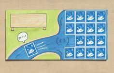 絵封筒 - imaginative envelope drawing