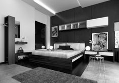 11 Most Elegant Black Bedroom Designs