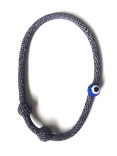Wonderful crochet jewellery by Teresa Degleri Crochet Jewellery, Crochet Necklace, Beaded Necklace, Necklaces, Pendant Necklace, Athens, Greece, 1, Jewels