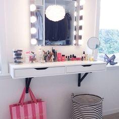 EKBY ALEX / EKBY VALTER Shelf with drawer, white, black - zoomly