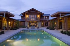 1000 ideas about u shaped houses on pinterest house for Luxury ranch house plans with indoor pool