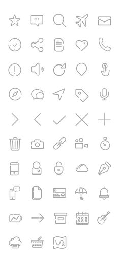 free_outline_gap_icons_45_icons