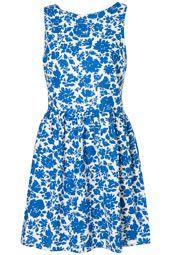 .my little blue  dress