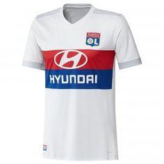 Olympique Lyon 2017-18 Season Home Les Gones White Jersey Shirt [K198]