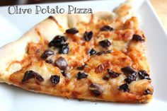 Olive Potato Pizza from NY Foodie Family blog