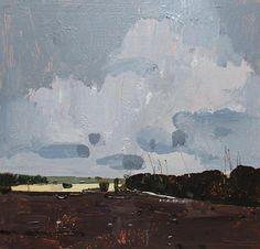 Grace Original Spring Landscape Painting on Panel