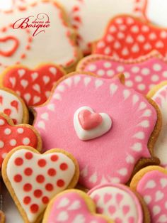 Bolachas S. Valentim • Valentine´s Cookies | Doces do Bosque