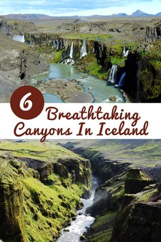 Some of Iceland's canyons are famous, but even more are hidden. Nature, the most talented sculptor did a spectacular job with all of them. And there's no chance to get bored with them as they are all so different. That's how we felt while we were on our way around Iceland and now we'd like to tell you about the canyons that took our breath away.