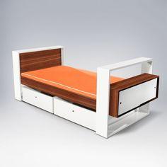 ducduc Austin Youth Bed with Trundle Modern Kids Beds, Modern Childrens Furniture, Kids Furniture, Little Boy Bedroom Ideas, Kids Bedroom, Bookshelf Headboard, Bedding Shop, Bed Storage, Kid Beds