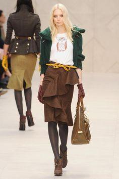 Burberry Prorsum Fall 2012 RTW Collection - Fashion on TheCut