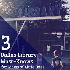 3 Dallas Library Must-Knows for Moms of Little Ones http://dallas.citymomsblog.com/3-dallas-library-must-knows-moms-little-ones/?utm_campaign=coschedule&utm_source=pinterest&utm_medium=DallasMomsBlog&utm_content=3%20Dallas%20Library%20Must-Knows%20for%20Moms%20of%20Little%20Ones #DallasPublicLibrary #books