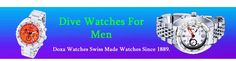 Visit our site http://www.doxawatches.com/ for more information on Scuba Watches.Dive Watches For Men can be a crucial tool undersea, but they are additionally a sign of the tough explorer in all of us, those of us who recognized a dream when we got licensed. The watch cases of diving watches should be appropriately water (stress) resistant and manage to endure the galvanic corrosiveness of seawater.