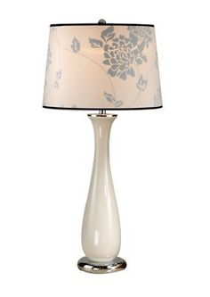 "Laura Ashley Lighting - Siena Ceramic Collection Beige Finish Siena Ceramic Table Lamp Base by Laura Lighting. $163.80. Shades included as shown in picture.SPECIFICATIONSSize: W.5.88"" H.22.5""Finish: BeigeBulb Type: 1-100 Watt (M)"