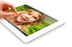Apple - iPad with Retina display - Just as stunning. Twice as fast.