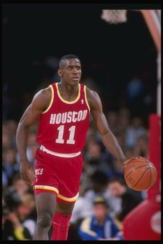 vernon maxwell | Guard Vernon Maxwell of the Houston Rockets in action.