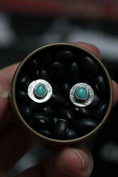 Sterling Silver Earrings, Silver Jewelry, Silver Rings, Black Business Card, Ear Studs, Minimalist Jewelry, Gemstone Rings, Stud Earrings, Turquoise