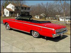 1962 Chevrolet Impala SS Convertible 409/409 HP, 5-Speed