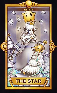 Of course, Rosalina and Luma would be The Star card. Haha ============================= For more Super Smash Tarot Cards, please this deck for updates! ===============...