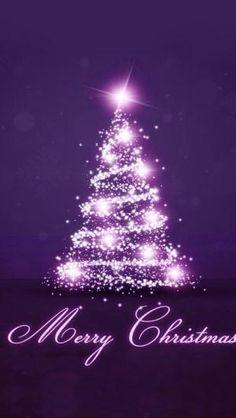 Purple christmas by savannah