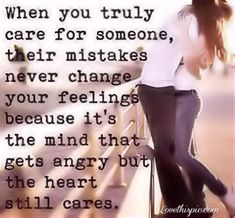 when you truly care for someoen love love quotes life quotes relationships couples quote hug couple in love relationship quotes Quotes About Love And Relationships, Life Quotes Love, Great Quotes, Relationship Quotes, Quotes To Live By, Inspirational Quotes, Life Sayings, Couple Quotes, Words Quotes