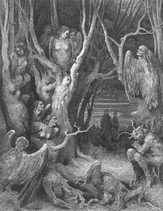 A Gustave Doré engraving of Dante's Inferno. Photograph: Hulton Archive/Getty Images