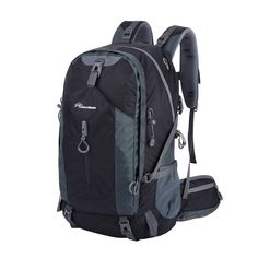 OutdoorMaster Hiking Backpack 50L with Waterproof Backpack Cover *** Tried it! Love it! Click the image. : backpacking packs