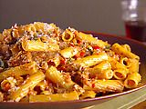 So delicious!  Rigatoni with Vegetable Bolognese Recipe : Giada De Laurentiis : Recipes : Food Network