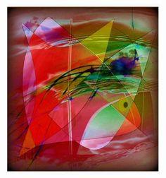 'Harmonie Abstrakt' von Gertrude  Scheffler bei artflakes.com als Poster oder Kunstdruck $18.71