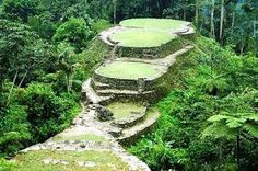 This is called Ciudad perdida (Lost City) it is near Santa Marta Colombia. You can hike there. or, more safely, take a chopper. Beautiful and breathtaking Sierra Nevada, The Beautiful Country, Beautiful Places, Wonderful Places, Colombian Cities, Tayrona National Park, Trip To Colombia, Santa Marta, Visit Santa