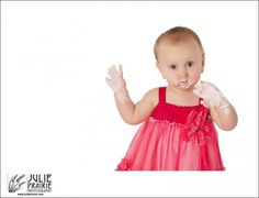 Beautiful little cake smash, First Birthday portrait session, Sioux Falls Photography, photographer sioux falls sd