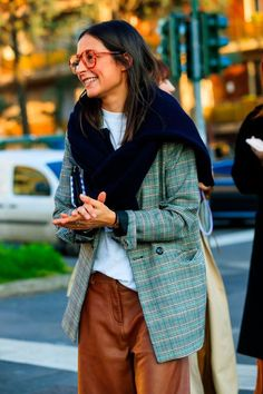 Fashion Week Milan: and if we were inspired by a street style to prick fashion ideas to adopt now Elle Style Fashion Week, Fashion Mode, Fashion 2020, New York Fashion, Look Fashion, Autumn Fashion, Girl Fashion, Womens Fashion, Fashion Design