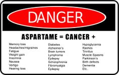 Did You Know Health Facts | Do you know these shocking facts about aspartame ? | Better Healthy ...
