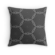 Dandelion - Throw Pillow Cover - pop over to the designer's own shop at annumar.com
