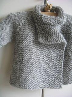 Thirsty Rose baby sweater pattern. Ravelry.