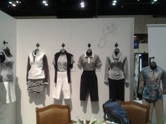 Are you into Sport Haley Outfits? You've gotta be excited because they are coming this July! This display is courtesy of the PGA Merchandise Show 2014. #golf #pgashow #golffashion #golfoutfits #lorisgolfshoppe